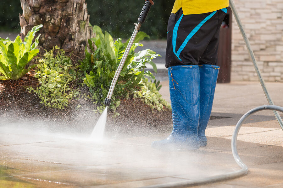 Commercial power washing by Impact Commercial Cleaning Services, LLC