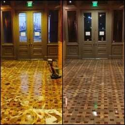 Before & After Floor Waxing in Ashland City, TN (1)