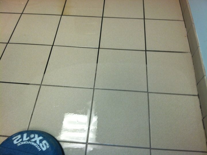 Tile & Grout Cleaning at Pediatric Associates in Franklin, TN