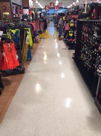 Floor Cleaning at Dick's Sporting Goods in Nashville, TN