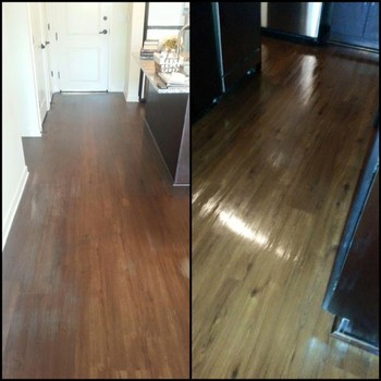 Before and After Floor Cleaning in Nashville, TN