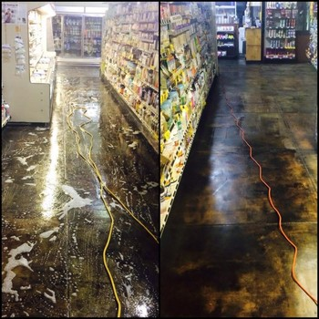 Floor Cleaning at The Turnip Truck in Nashville, TN