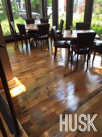 Floor Cleaning at Husk Restaurant in Nashville, TN