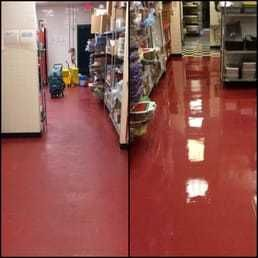 Before and After Floor Cleaning at Jets Pizza in Nashville,TN (1)
